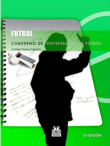 Cuaderno del entrenador de fútbol libro