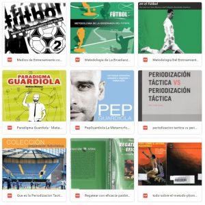 70 Libros de fútbol portada