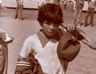 Diego Maradona Niño homenaje